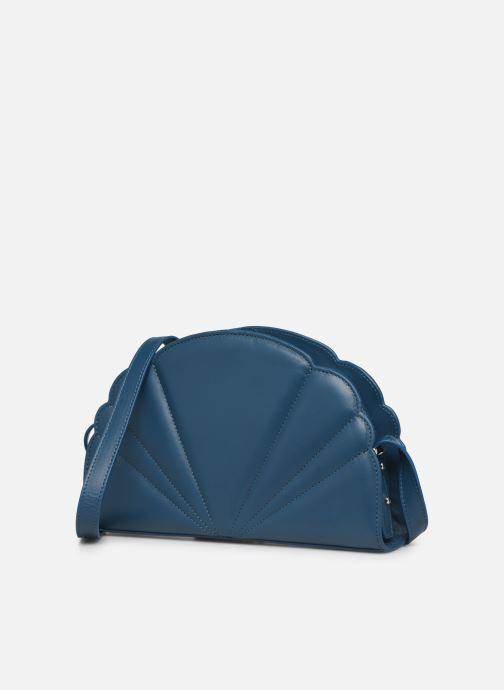Handtaschen Nat & Nin Flora blau schuhe getragen