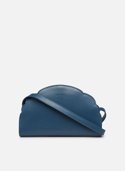 Handtassen Nat & Nin Flora Blauw voorkant