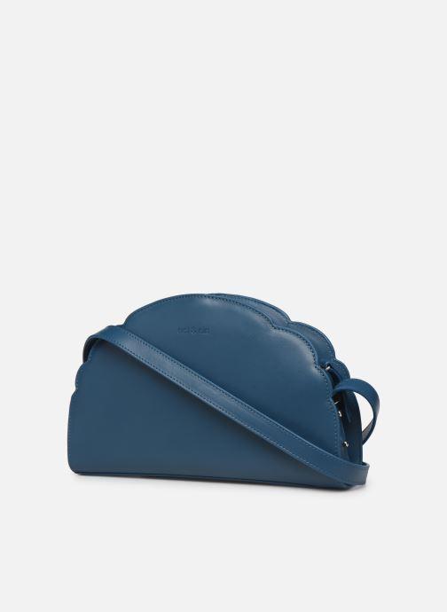 Handtaschen Nat & Nin Flora blau ansicht von rechts