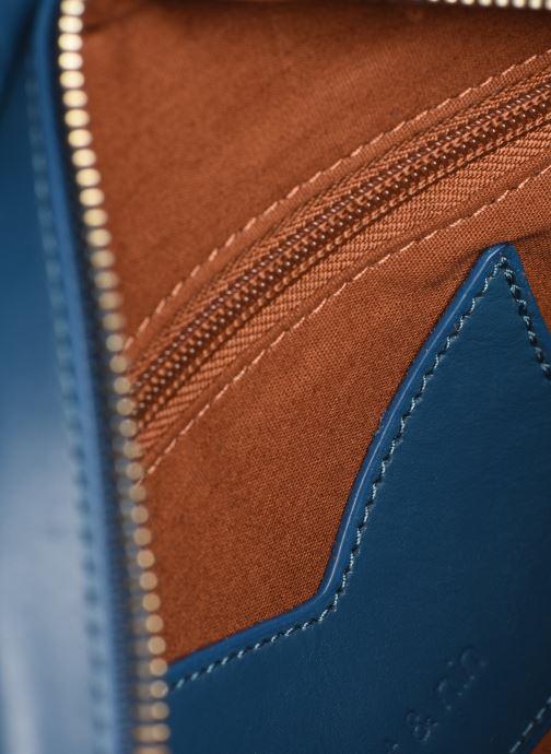 Handtaschen Nat & Nin Flora blau ansicht von hinten
