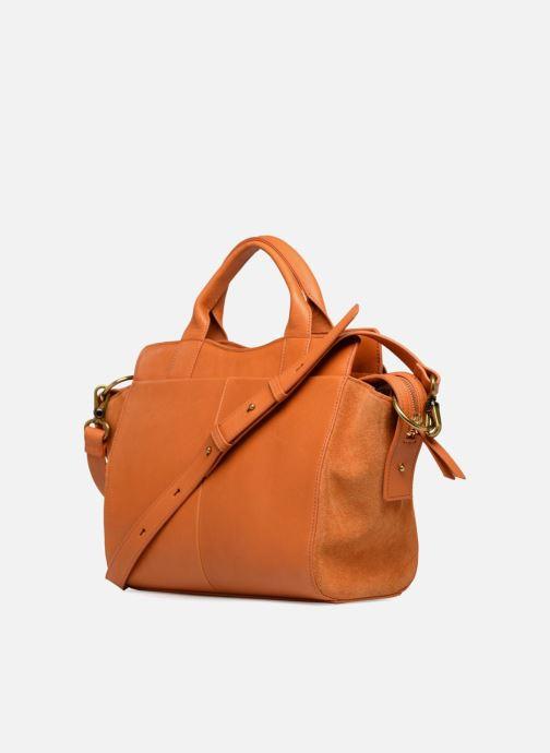 Handbags Nat & Nin Josefin Orange view from the right
