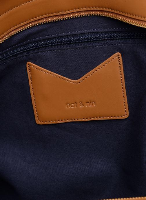 Handtaschen Nat & Nin Josefin braun ansicht von hinten