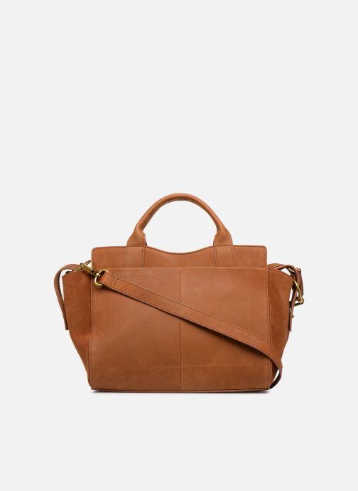 Handtaschen Nat & Nin Josefin braun ansicht von vorne