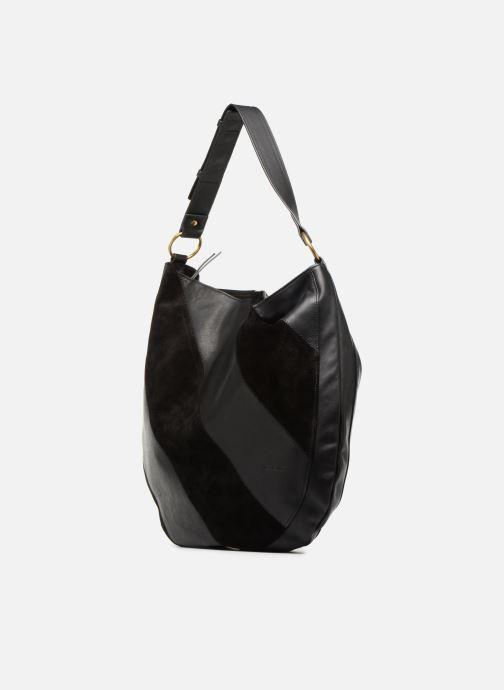 Handtaschen Nat & Nin Marloes schwarz schuhe getragen