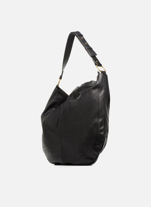 Handtaschen Nat & Nin Marloes schwarz ansicht von rechts