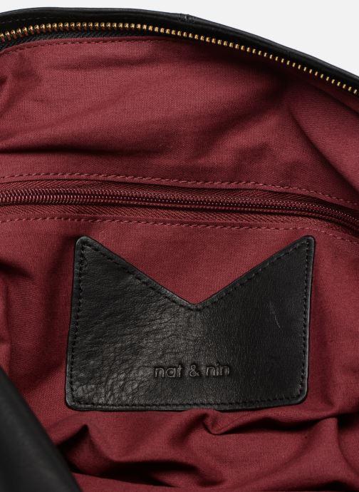Handtaschen Nat & Nin Marloes schwarz ansicht von hinten