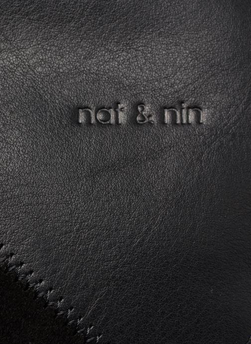 Handtaschen Nat & Nin Marloes schwarz ansicht von links