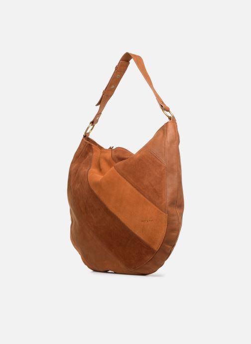 Handtaschen Nat & Nin Marloes braun schuhe getragen