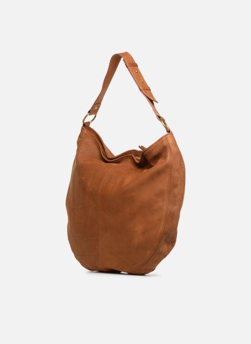 Handtaschen Nat & Nin Marloes braun ansicht von rechts