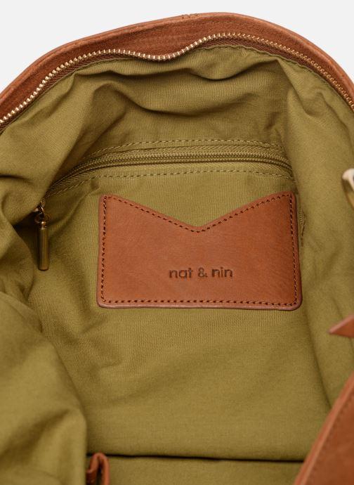 Handtaschen Nat & Nin Marloes braun ansicht von hinten