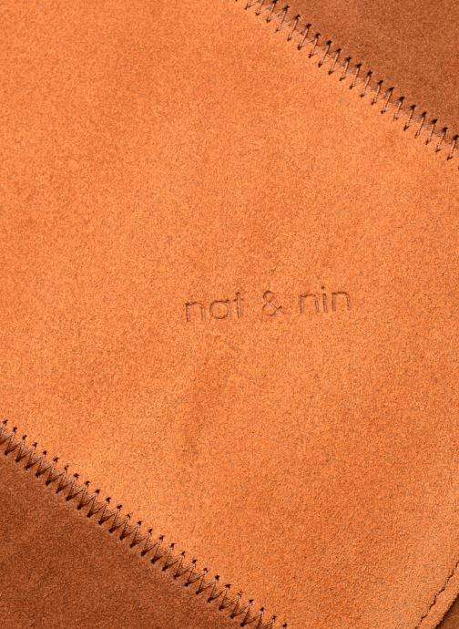 Handtaschen Nat & Nin Marloes braun ansicht von links