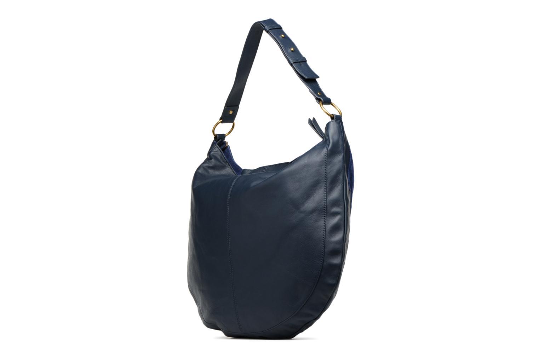 Handtaschen Nat & Nin Marloes blau ansicht von rechts