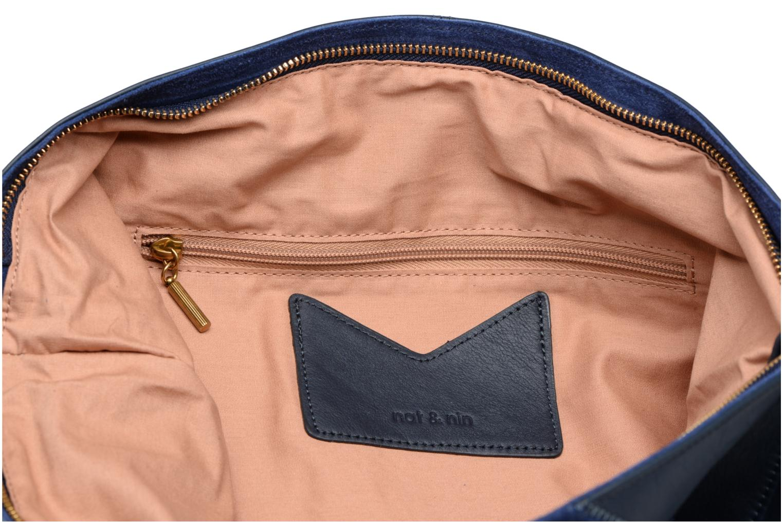 Handtaschen Nat & Nin Marloes blau ansicht von hinten