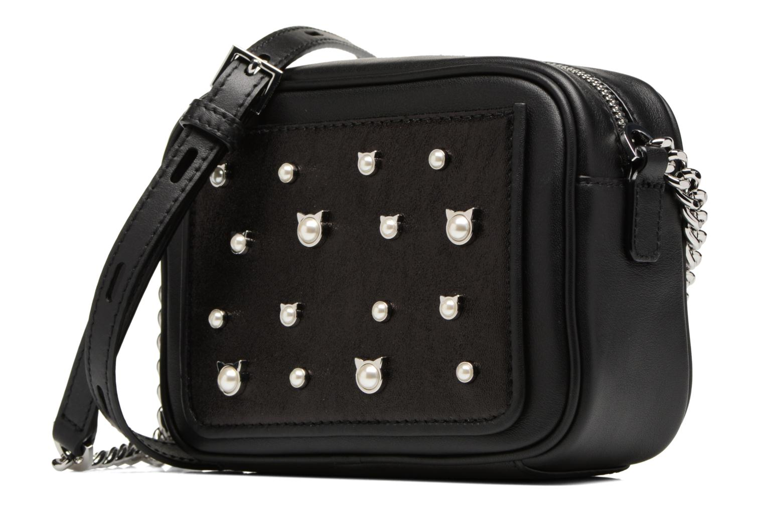 BLACK A999 Pearl Cat Crossbody Small LAGERFELD KARL q8wTYY