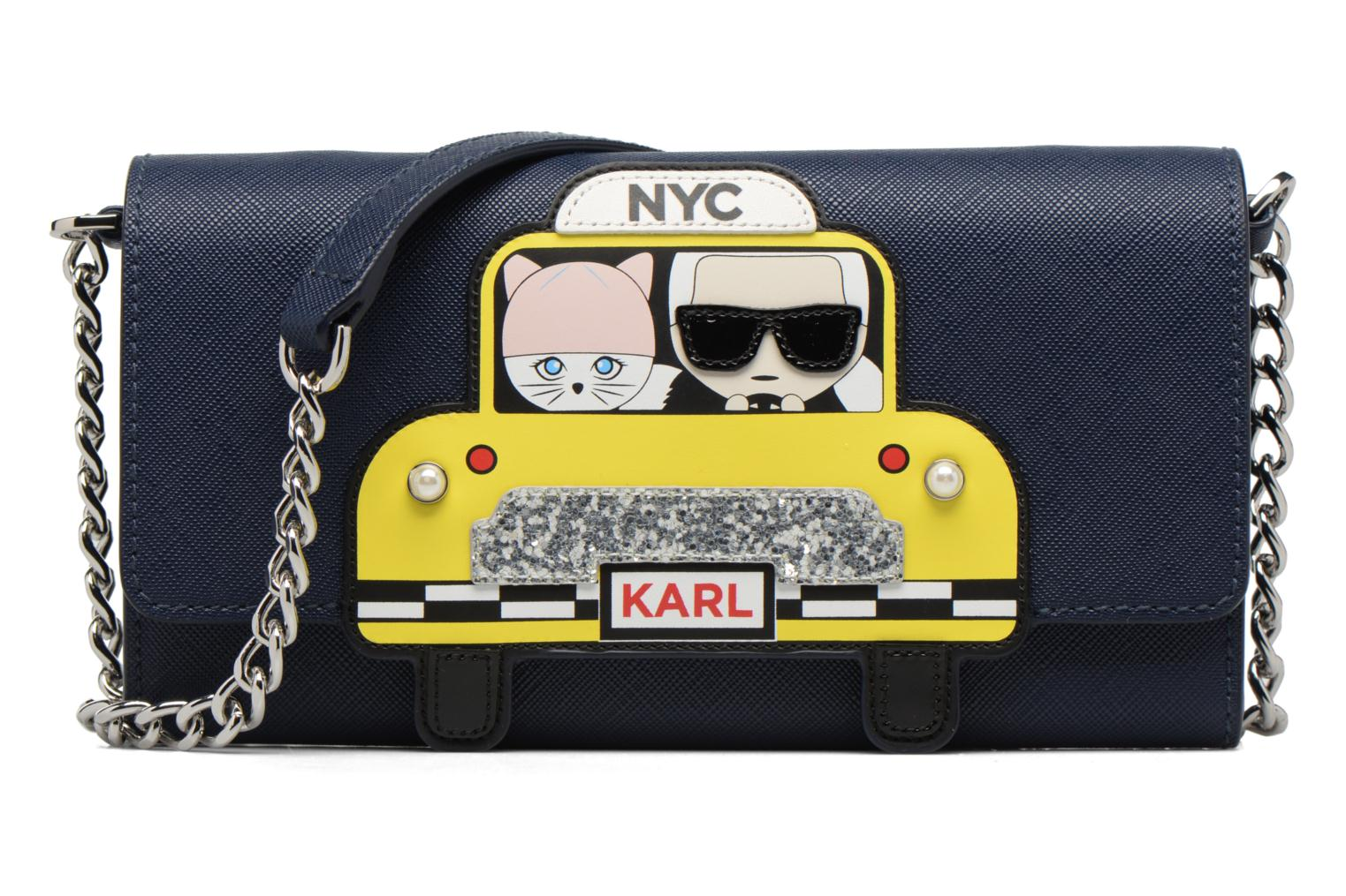 NIGHT KARL Chain NYC Wallet BLUE A330 LAGERFELD qXAX1nvw4