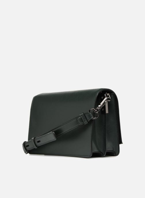 Handbags KARL LAGERFELD K Signature Shoulder Bag Green view from the right