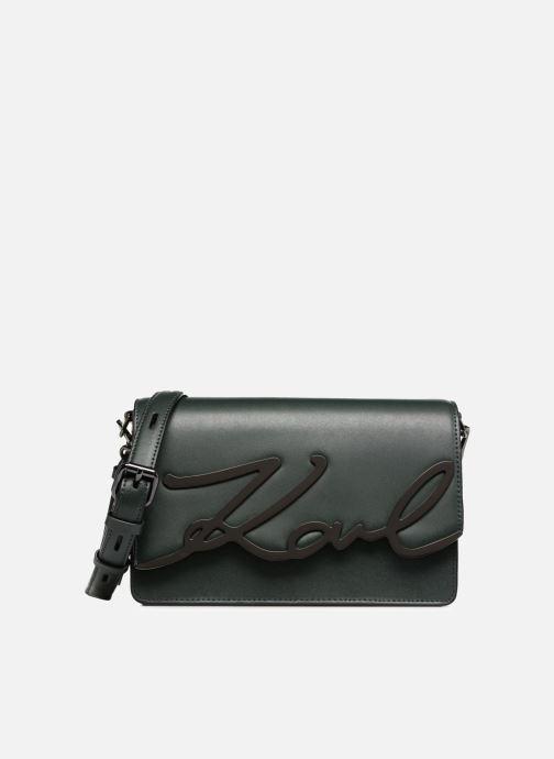 Handbags KARL LAGERFELD K Signature Shoulder Bag Green detailed view/ Pair view