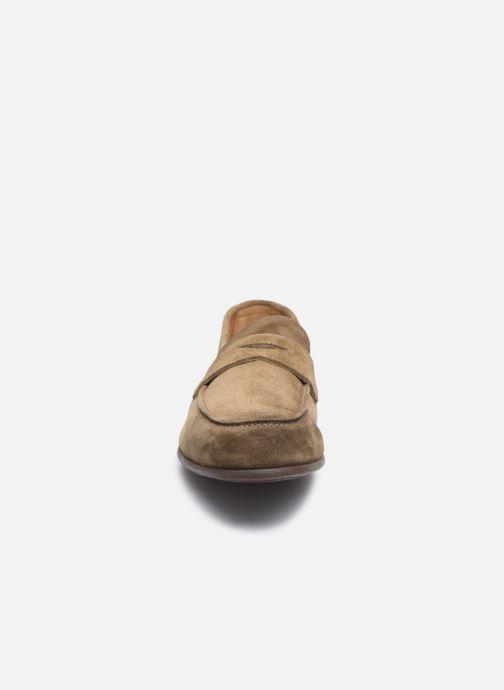 Mocassins Doucal's MIRCO Beige vue portées chaussures