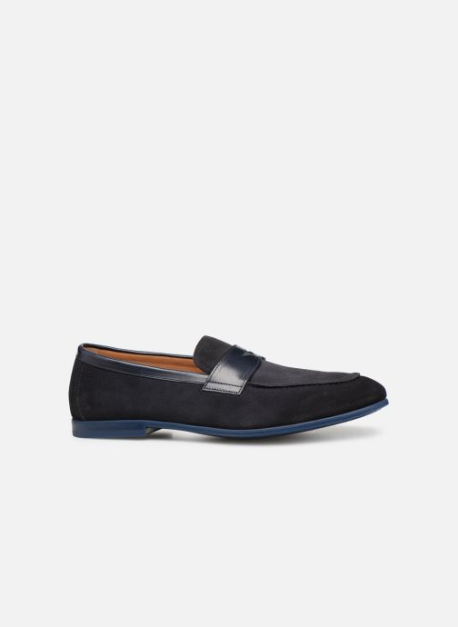 Loafers Doucal's MIRCO Blue back view