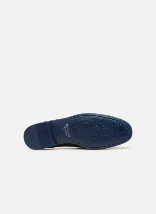 Loafers Doucal's MIRCO Blue view from above