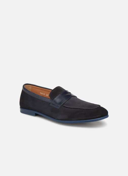 Loafers Doucal's MIRCO Blue detailed view/ Pair view