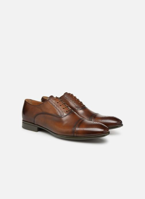 Lace-up shoes Doucal's OTELLO Brown 3/4 view