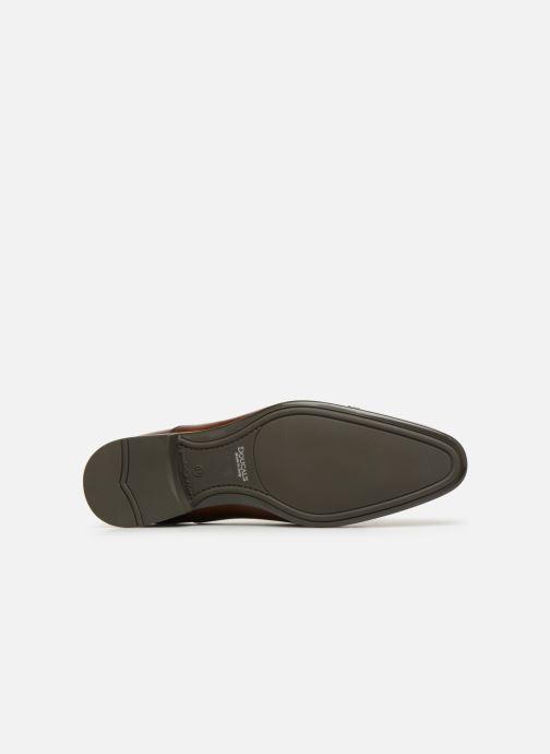 Chaussures à lacets Doucal's OTELLO Marron vue haut
