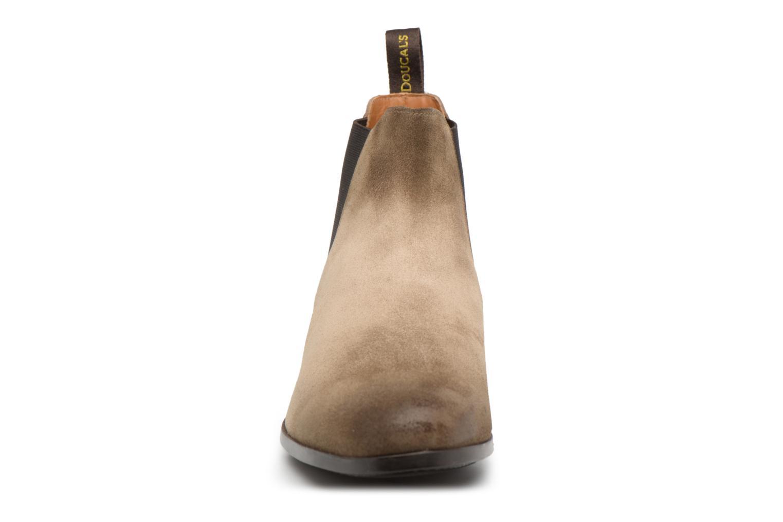 Bottines et boots Doucal's SILVIO Gris vue portées chaussures