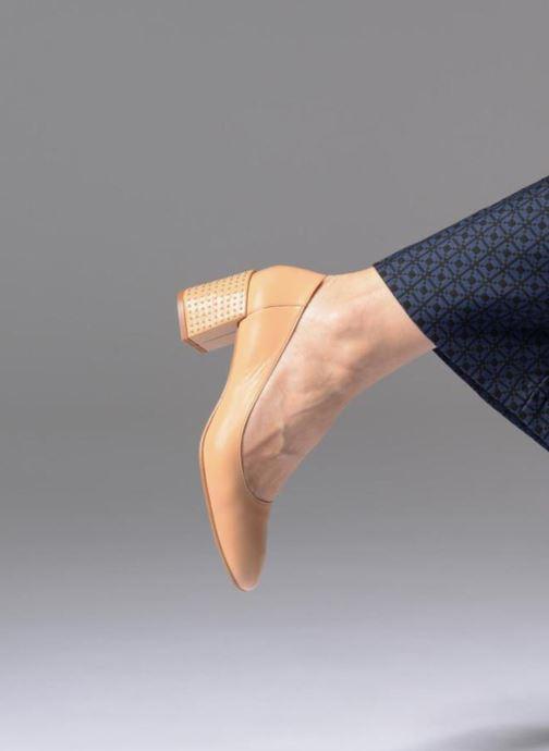 Zapatos de tacón Georgia Rose Taclou Beige vista de abajo