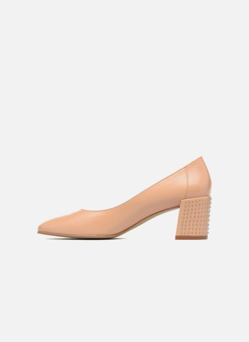 Zapatos de tacón Georgia Rose Taclou Beige vista de frente