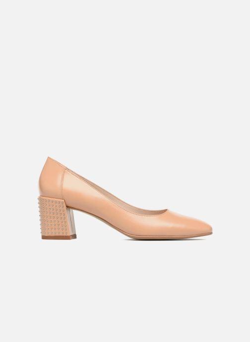 Zapatos de tacón Georgia Rose Taclou Beige vistra trasera
