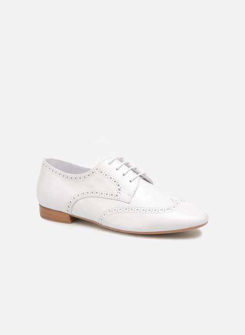 Zapatos con cordones Georgia Rose Taflora Blanco vista de detalle / par