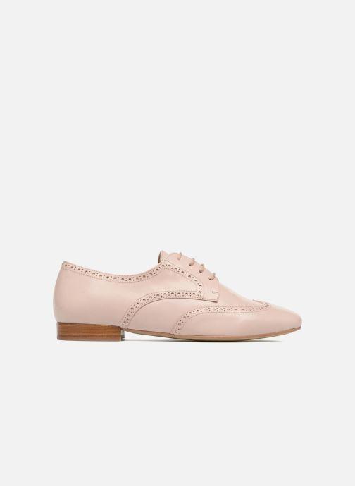 Zapatos con cordones Georgia Rose Taflora Beige vistra trasera
