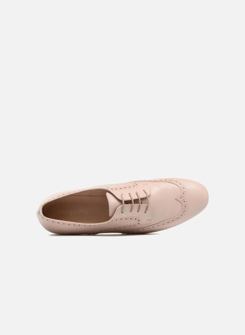 Veterschoenen Georgia Rose Taflora Beige links