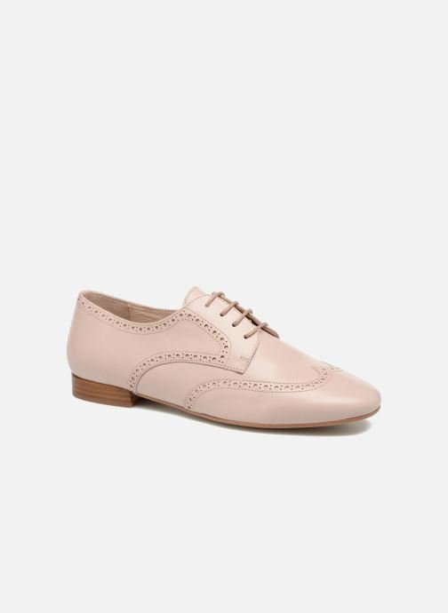 Zapatos con cordones Georgia Rose Taflora Beige vista de detalle / par