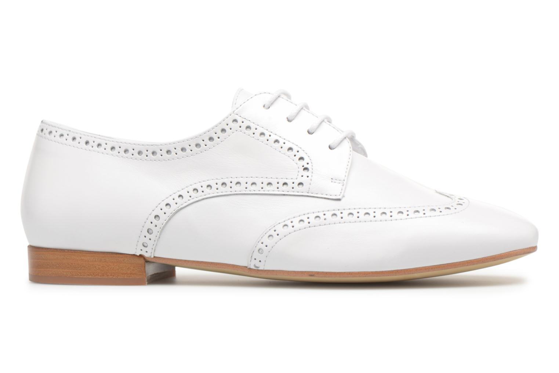 Chaussures à lacets Georgia Rose Taflora Blanc vue derrière