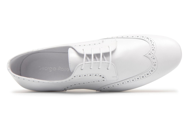 Chaussures à lacets Georgia Rose Taflora Blanc vue gauche