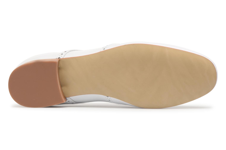 Chaussures à lacets Georgia Rose Taflora Blanc vue haut