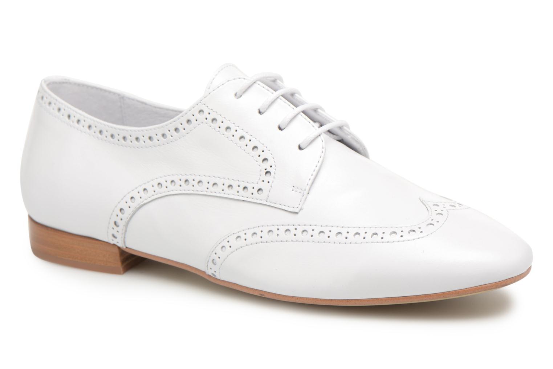 Chaussures à lacets Georgia Rose Taflora Blanc vue détail/paire