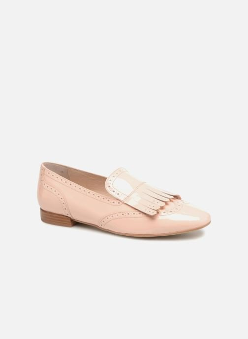 Loafers Georgia Rose Tichoca Pink detailed view/ Pair view