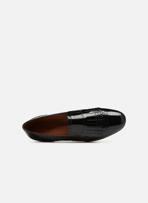 Loafers Georgia Rose Tichoca Black view from the left