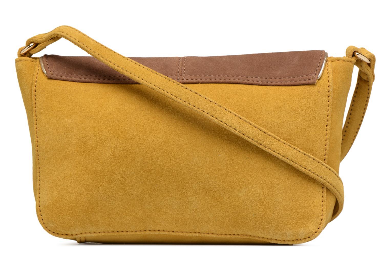 Handtassen Petite mendigote Crossbody Isaure Geel voorkant