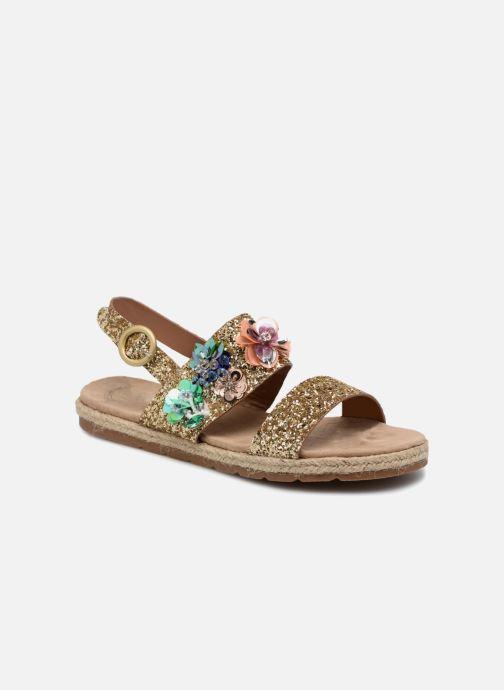 Sandales et nu-pieds Molly Bracken Linizia Or et bronze vue détail/paire