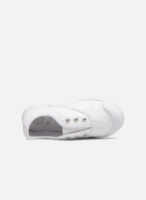 Trainers Chicco Cardiff White view from the left