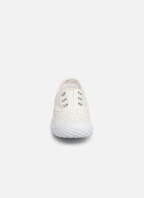Baskets Chicco Cardiff Blanc vue portées chaussures