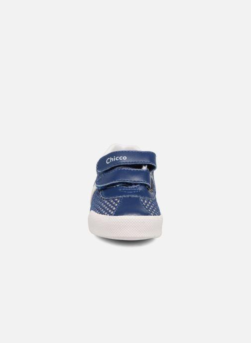 Baskets Chicco Golden Bleu vue portées chaussures