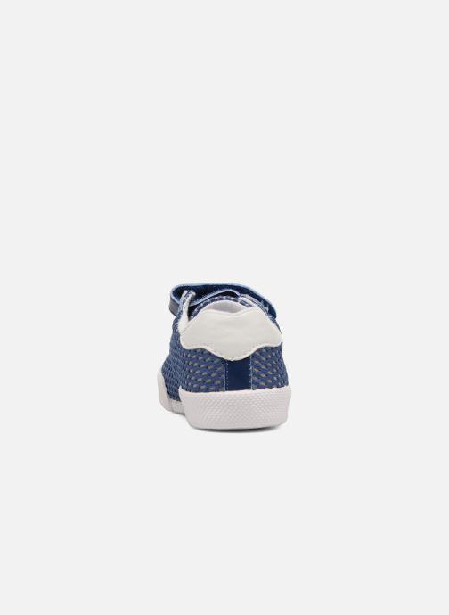 Baskets Chicco Golden Bleu vue droite