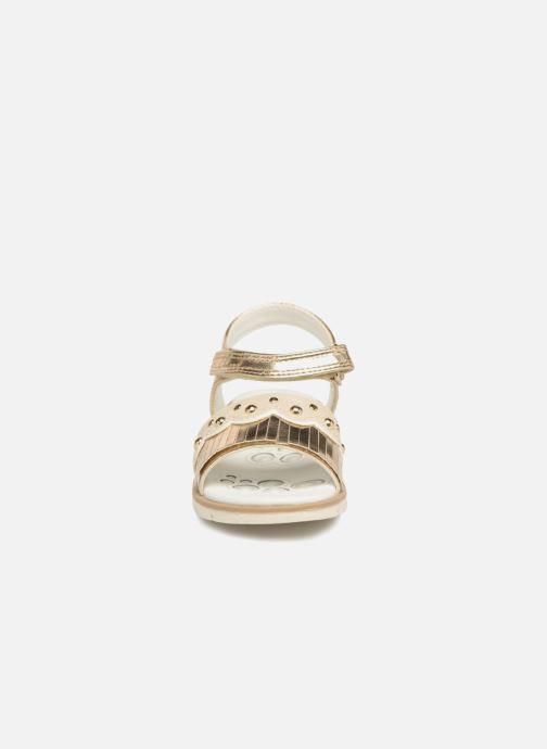 Sandales et nu-pieds Chicco Corinne Or et bronze vue portées chaussures