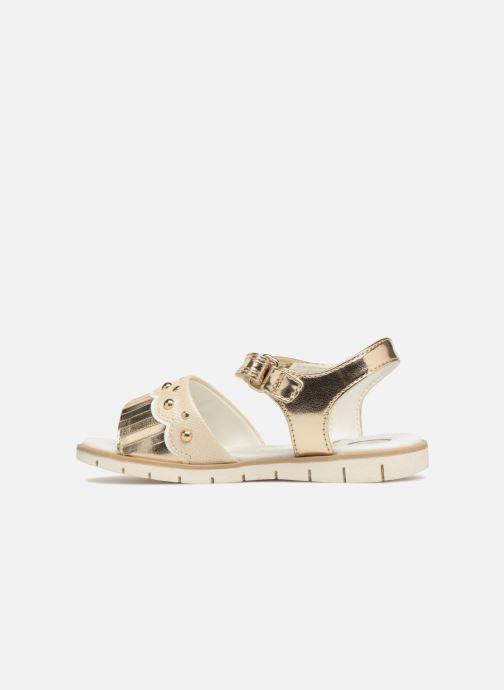 Sandales et nu-pieds Chicco Corinne Or et bronze vue face
