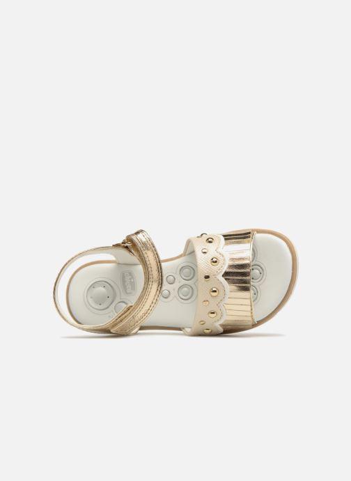 Sandales et nu-pieds Chicco Corinne Or et bronze vue gauche